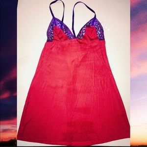 Red and Purple Victoria's Secret Lingerie XS